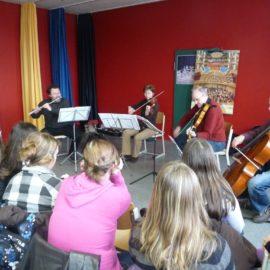 Die Bochumer Symphoniker live im Musikunterricht