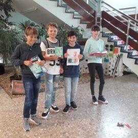 """Siegerehrung im Schreibwettbewerb """"Buchspringer"""""""