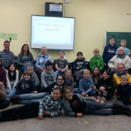 Aktionstage Schule ohne Rassismus in Klasse 5