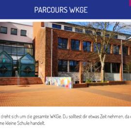 Digitale Schnitzeljagd durch die Wilhelm-Kraft-Gesamtschule