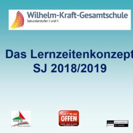 Lernzeitenkonzept 2018/2019