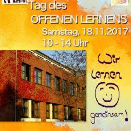 Tag des offenen Lernens, 18.11.2017, 10 – 14 Uhr