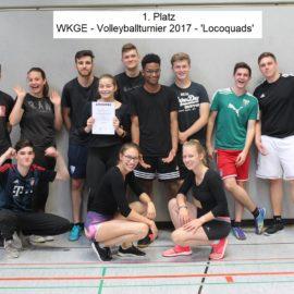 Wir kennen kein Sommerloch! Wir haben unser Volleyballturnier 2017 an der WKGE! – Zahlen und Fakten aus der Sporthalle