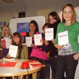 Klassensieger im Vorlesewettbewerb 2009