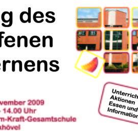 Tag des offenen Lernens 2009 – Presseinformation
