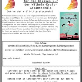 Schreibwettbewerb 2017