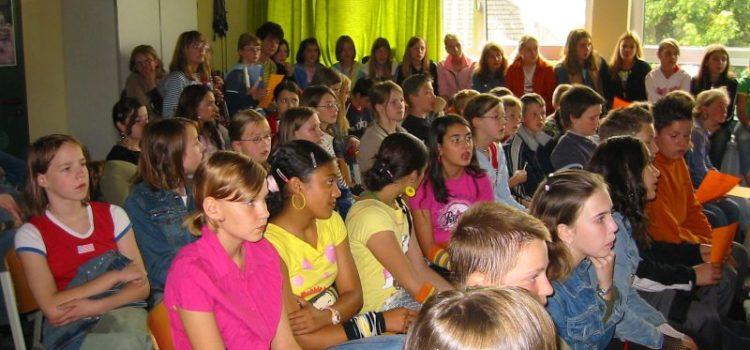 """Konzert """"Die großen Talente unserer Schule"""" in der Schulkulturwoche 2004"""